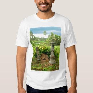 Balinese Rice Field Shrines Tee Shirt