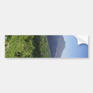 Balinese Volcano Car Bumper Sticker