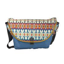 Balkan Folk Art Lozenge Pattern Medium Messenger Messenger Bag at  Zazzle