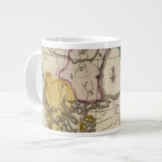Balkan Peninsula 3 Jumbo Mug