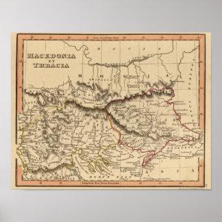 Balkan Peninsula 4 Print