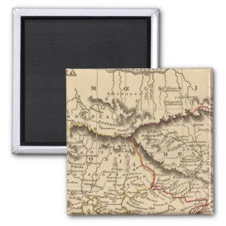 Balkan Peninsula 5 2 Inch Square Magnet