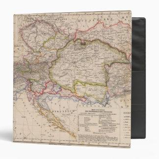 Balkan Peninsula Austria Hungary Vinyl Binders