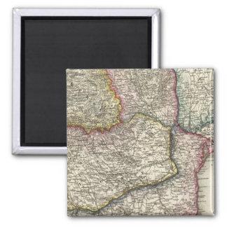 Balkan Peninsula, Bulgaria 2 Inch Square Magnet