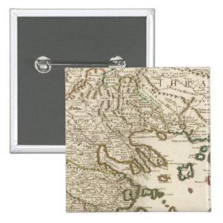 Balkan Peninsula, Greece, Macedonia 2 Button