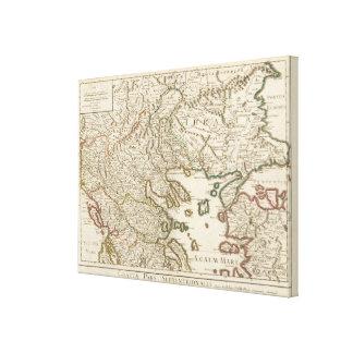 Balkan Peninsula, Greece, Macedonia 2 Canvas Print