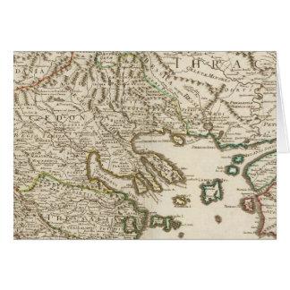 Balkan Peninsula, Greece, Macedonia 2 Card