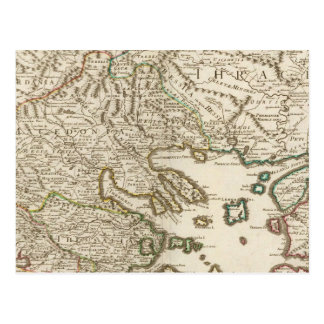 Balkan Peninsula, Greece, Macedonia 2 Postcard