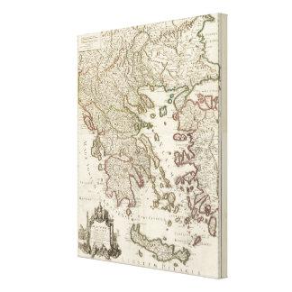 Balkan Peninsula, Greece, Macedonia 3 Canvas Print