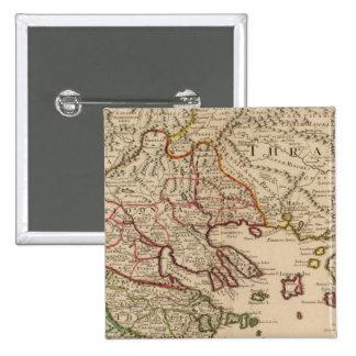Balkan Peninsula, Greece, Macedonia 3 Pinback Button