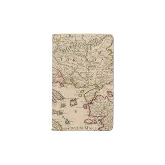 Balkan Peninsula, Greece, Macedonia 3 Pocket Moleskine Notebook