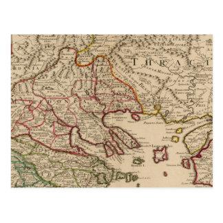 Balkan Peninsula, Greece, Macedonia 3 Postcard
