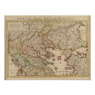 Balkan Peninsula, Greece, Macedonia 3 Poster