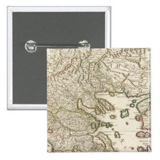 Balkan Peninsula, Greece, Macedonia Pinback Button