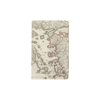 Balkan Peninsula, Greece, Macedonia Pocket Moleskine Notebook