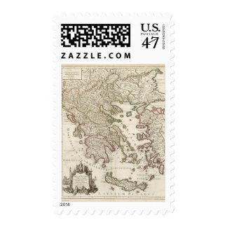 Balkan Peninsula, Greece, Macedonia Stamp