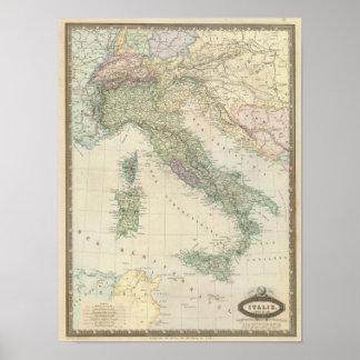 Balkan Peninsula, Italy, Slovenia Poster