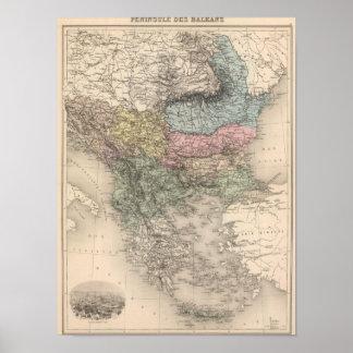 Balkan Peninsula Poster