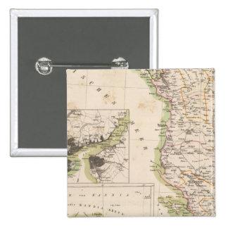 Balkan Peninsula, Turkey, Albania Pinback Button