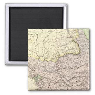 Balkan Peninsula, Turkey, Greece 2 2 Inch Square Magnet