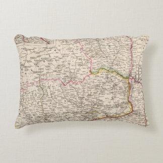 Balkan Peninsula, Turkey, Romania Accent Pillow