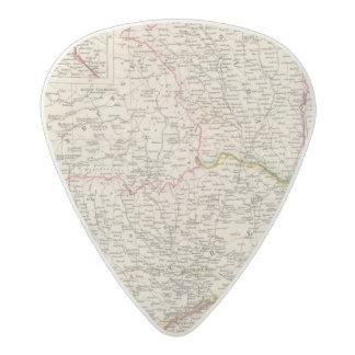 Balkan Peninsula, Turkey, Romania Acetal Guitar Pick