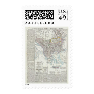 Balkan Peninsula, Turkey, Serbia, Europe Stamps