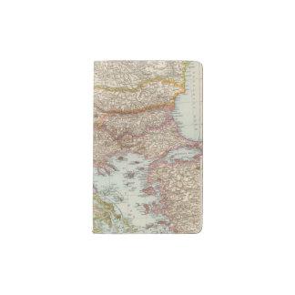 Balkanhalbinsel - Balkan Peninsula Map Pocket Moleskine Notebook