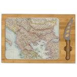 Balkanhalbinsel - mapa de la península balcánica