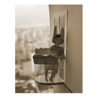 Balkony Postcard