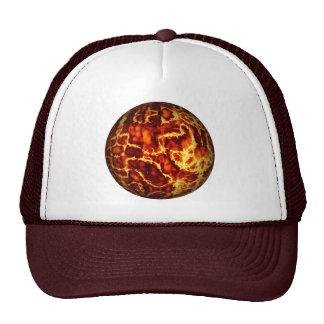 ball-373718 HOT RED FIRE PLANET  ball fire electri Trucker Hat