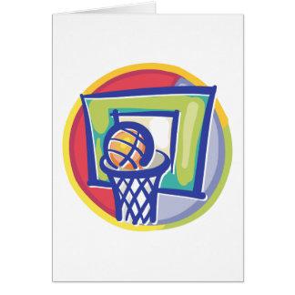 Ball and Backboard Card