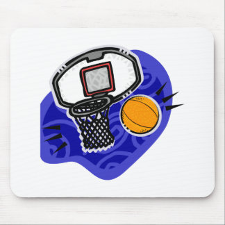 Ball and basket mouse pad