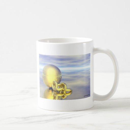 Ball and chain coffee mug