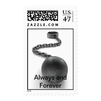 Ball and Chain Postage