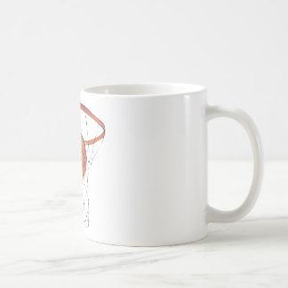 Ball-and-Net Classic White Coffee Mug