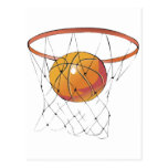 Ball-and-Net Post Card