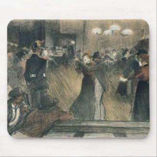Ball at the Barriere Mouse Pad