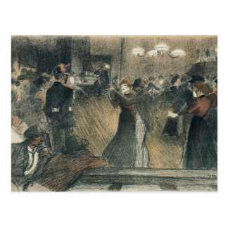 Ball at the Barriere Postcard