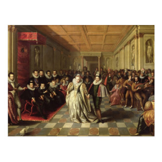 Ball at the Court of Henri III Postcard