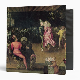 Ball at the Court of Valois 3 Ring Binder