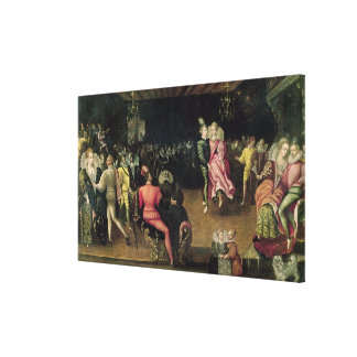 Ball at the Court of Valois Canvas Print