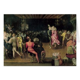 Ball at the Court of Valois Card