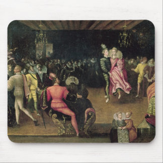 Ball at the Court of Valois Mouse Pad