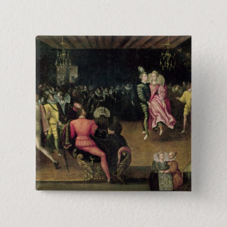 Ball at the Court of Valois Pinback Button
