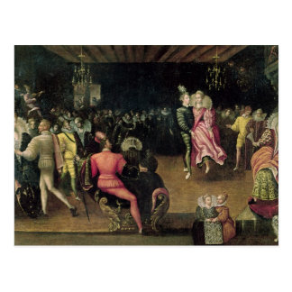 Ball at the Court of Valois Postcard