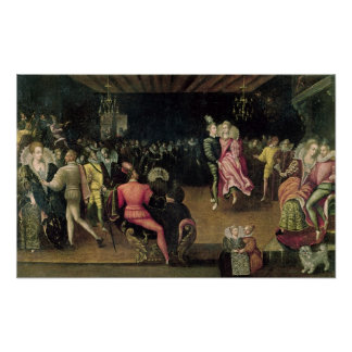 Ball at the Court of Valois Poster