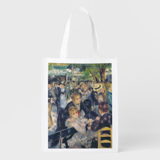 Ball at the Moulin de la Galette, 1876 2 Grocery Bags