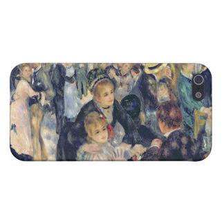 Ball at the Moulin de la Galette, 1876 iPhone SE/5/5s Case
