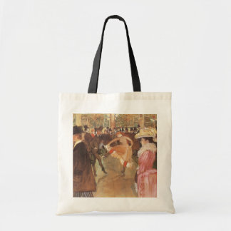 Ball at the Moulin Rouge by Toulouse Lautrec Canvas Bag